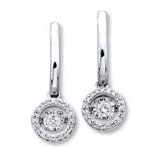 jared jewelers coupon kay diamonds in rhythm 1 3 ct tw earrings 10k white gold