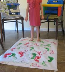 how to paint with small children mess free child activities