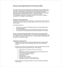 15 service agreement templates u2013 free sample example format