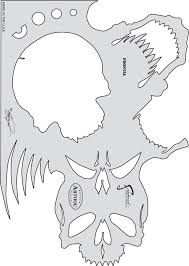 amazon com artool freehand airbrush templates skull master