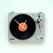 wall clocks strange wall clocks strange movie art vinyl record