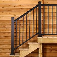 Stair Banister Kit Stair Railing To Make Your Stair Not Ordinarily Dull Whomestudio