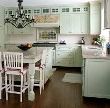 cottage kitchen ideas landscape mural in cottage kitchen design traditional