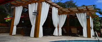 outdoor drapery u2013 sunshield awnings