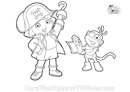 dora halloween coloring pages bestofcoloring com