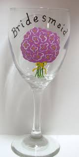 33 best wedding wine glasses images on pinterest wedding wine