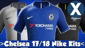 Baju Jersi Nike chelsea nike kits 2017 2018 home away third kits possible