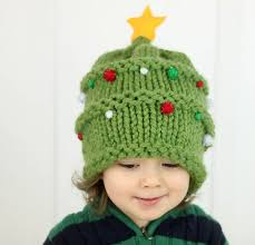 christmas tree hat baby christmas tree hat knitting pattern michele