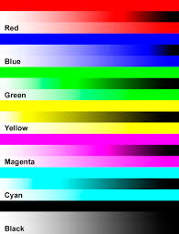 color test page laser printer coloring pages
