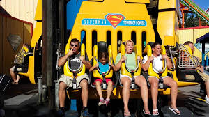Six Flags Stl Superman Ride Tower Of Power Six Flags St Louis Mo Youtube