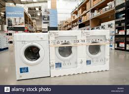 Kitchen Appliance Stores - kitchen appliances for sale inside a b u0026q store new washing