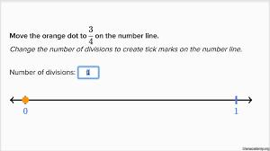 Placing Decimals On A Number Line Worksheet Fractions On The Number Line Practice Khan Academy