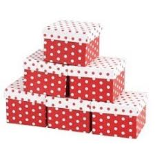 polka dot gift boxes gift boxes personalised promotional items