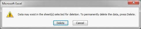 4 useful vba delete worksheet macro examples wellsr com