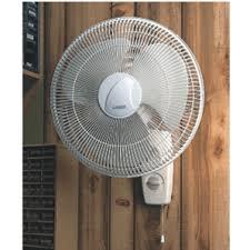 lasko fan wall mount bracket home hardware 3 speed 3 blade 16 white oscillating wall mount fan