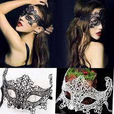 lace masquerade masks for women free dhl masquerade women lace mask half black