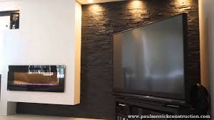 contemporary fireplace remodel by paul merrick construction youtube