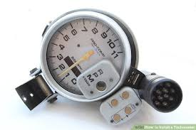 how to install a tachometer 8 steps with pictures wikihow