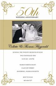 50th wedding invitations wedding invitation templates 50th wedding anniversary invitations