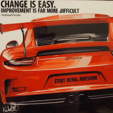 ferdinand porsche porsche 911 gt3 rs inspired mounted plaque poster
