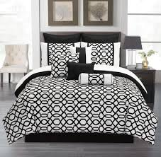 bedroom full size black and white canopy bedding set inspiration