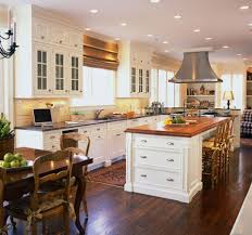 kitchen antique white painted wooden kitchen cabinets with some