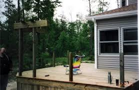 columbia custom built deck projects