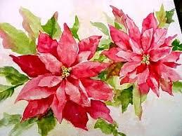 susie short u0027s watercolor christmas cards painting poinsettias