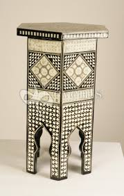Moroccan Side Table Side Table Moroccan Mother Of Pearl Decorative Events U0026 Exhibitions