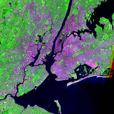 New York City Map Pdf Maps Urban Landsat Sedac