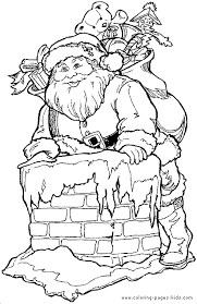 free christmas printable coloring santa claus christmas