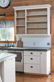 how to add a beadboard backsplash for 20 creative cain cabin