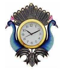 wall watch buy multicolour wood 13 x 1 x 13 inch wall clock art of jodhpur