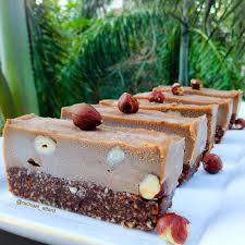 ferrero rocher slice sugar gluten and dairy free vegan