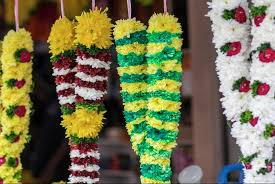 garlands for wedding fresh flower garland for hindu wedding kantora info