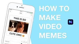 How To Make Video Memes - how to make video memes free video meme maker app for iphone ios