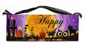 happy halloween pumpkin black cat owl from mollie u0027s market