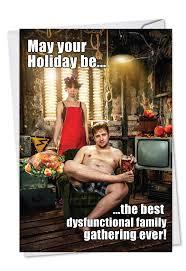 dysfunctional thanksgivin rocket thanksgiving greeting card