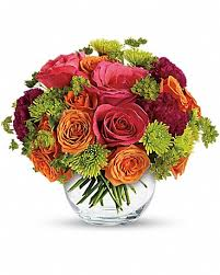 floral bouquets teleflora s smile for me in sandpoint id nieman s floral