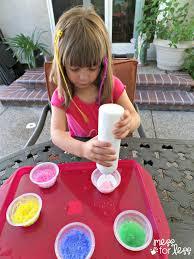 paint recipe surprise color sidewalk paint mess for less