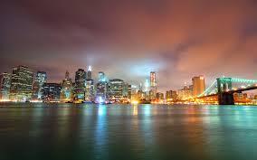 nyc skyline wallpaper at night wallpaper wallpaper hd
