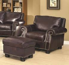 Leather Wingback Chair With Ottoman Design Ideas Leather Wingback Recliner Tags Leather Wingback Chair Recliner