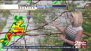 Oklahoma Weather Map 2 Works For You Tuesday Morning Weather Forecast Youtube