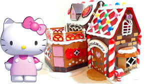 hello kitty u0026 mimmy sweet candy house cake shop playset stop