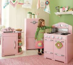 Pink Retro Kitchen Collection Terrific Pottery Barn Play Kitchen 92 Pottery Barn Vintage Play
