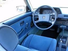1985 honda accord 1985 accord original interior w exterior drive accord