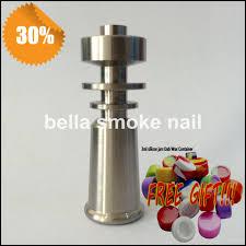 10mm titanium nail 10mm domeless gr2 titanium nail joint nails for