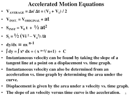 solving accelerated motion problems