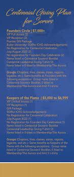 centennial celebration souvenir booklet sigma gamma rho sorority inc centennial don t throw it away