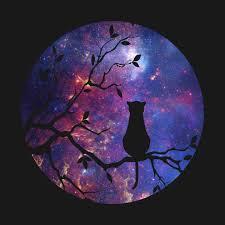 the cat and the moon cat t shirt teepublic